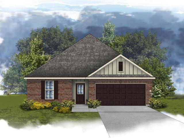 3 Bed, 2 Bath New Home Plan In Loxley, Al