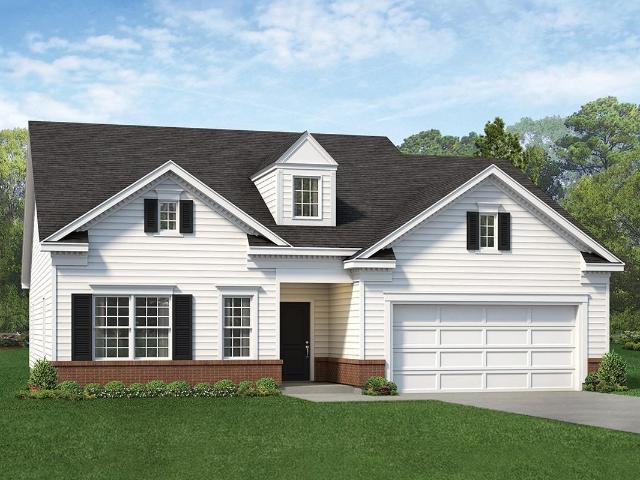 3 Bed, 2 Bath New Home Plan In Rolesville, Nc