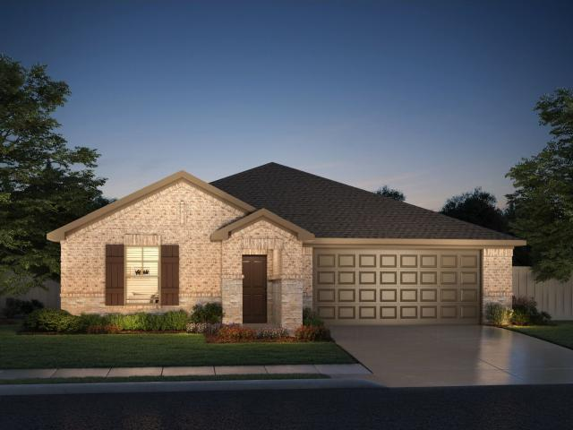 3 Bed, 2 Bath New Home Plan In Royse City, Tx
