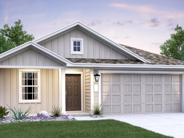 3 Bed, 2 Bath New Home Plan In San Antonio, Tx