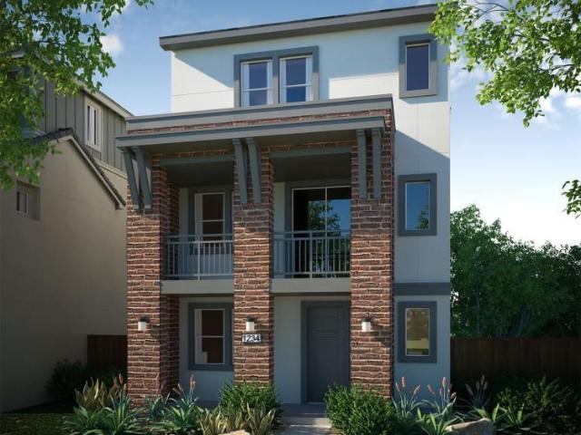 3 Bed, 2 Bath New Home Plan In San Jose, Ca