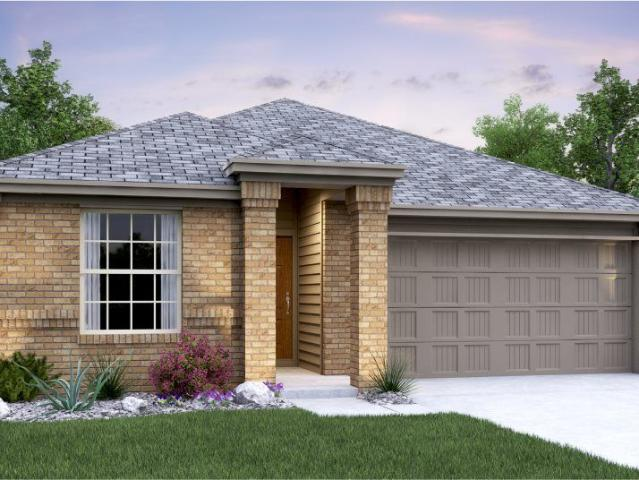 3 Bed, 2 Bath New Home Plan In San Marcos, Tx
