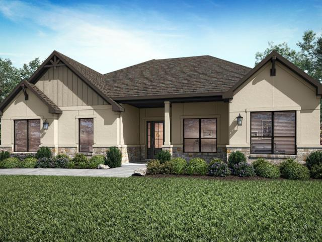 3 Bed, 2 Bath New Home Plan In Spicewood, Tx