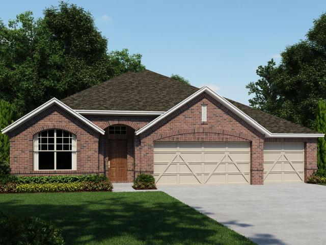 3 Bed, 2 Bath New Home Plan In Spring Branch, Tx