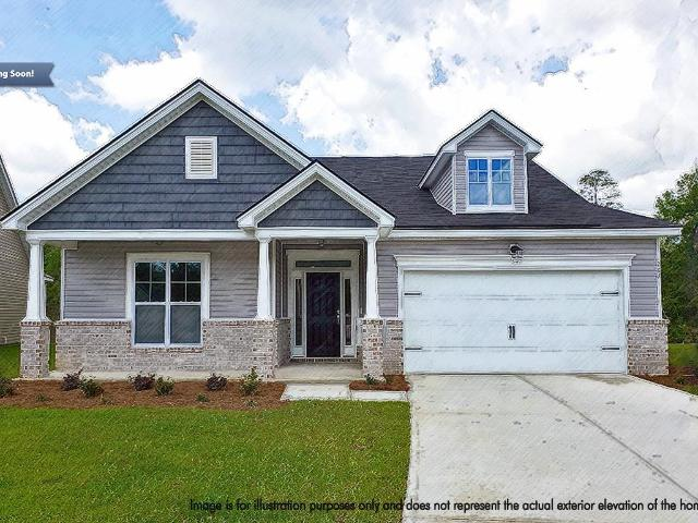 3 Bed, 2 Bath New Home Plan In Waverly, Ga