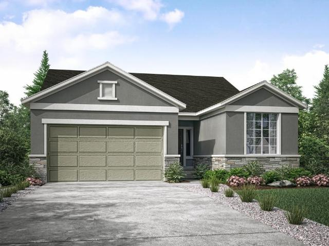 3 Bed, 2 Bath New Home Plan In West Valley City, Ut