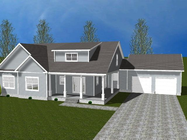 3 Bed, 2 Bath New Home Plan In Worton, Md