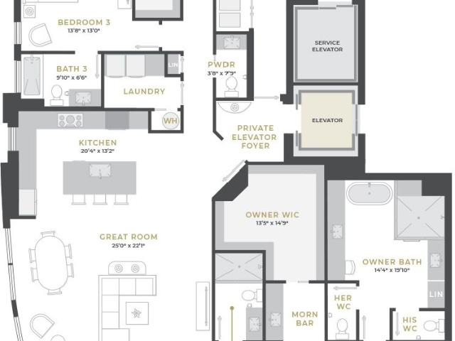3 Bed, 4 Bath New Home Plan In Tampa, Fl