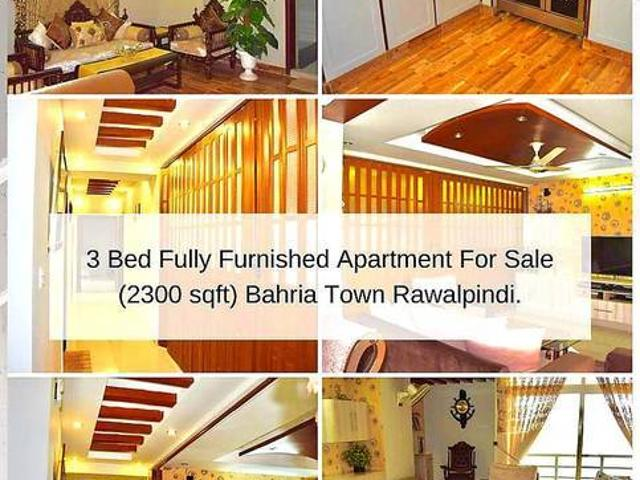 3 Bed Luxury Furnished Apartment For Sale