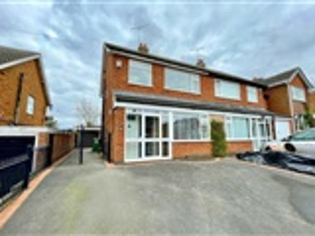 3 Bed Semi Detached For Sale Turner Rise Leicester