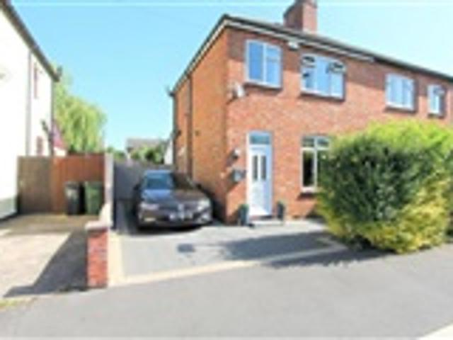 3 Bed Semi Detached For Sale Waterloo Crescent Wigston Leicester