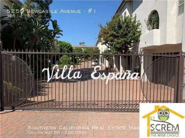 3 Bedroom Apartment For Rent At 5259 Newcastle Ave #1, Los Angeles, Ca 91316 Encino