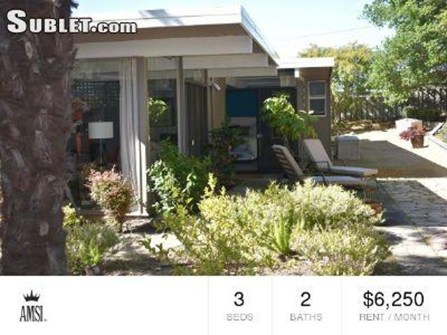 3 Bedroom Detached House San Mateo Ca For Rent At 6250