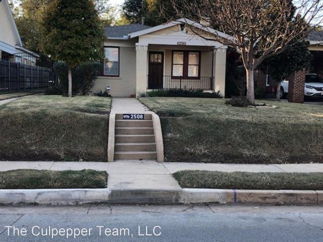 3 Bedroom Home For Rent At 2508 Rogers Ave, Fort Worth, Tx 76109 University West