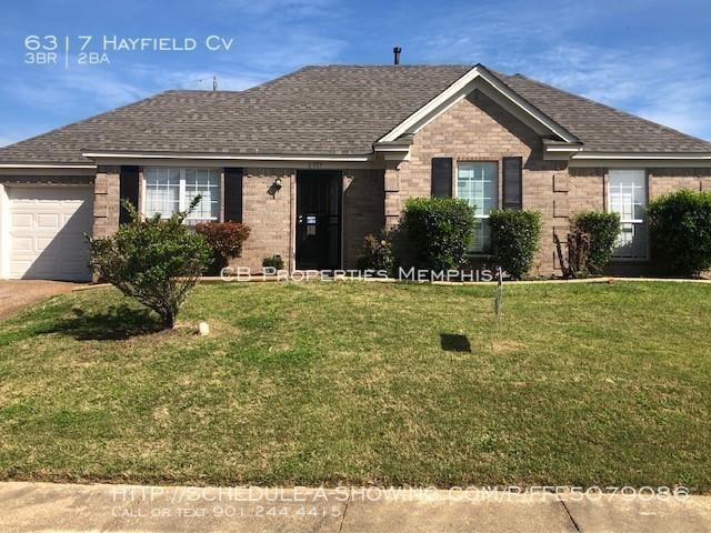 3 Bedroom Home For Rent At 6317 Hayfield Cv, Memphis, Tn 38141 Ragan Farms
