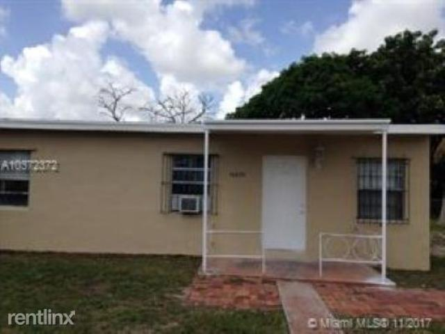 3 Bedroom Home For Rent At Nw 22nd Ave, Opa Locka, Fl 33054