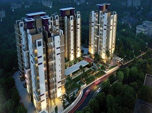 3 Bhk 905 Sq. Ft. Apartment For Sale In Merlin Waterfront At Rs 6200/sq. Ft, Kolkata | Squ...