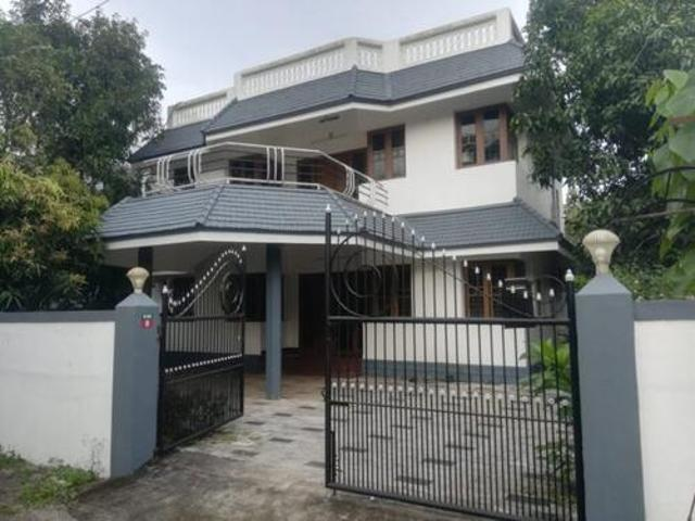 3 Bhk Fully Furnished House For Rent In Eastfort Thrissur