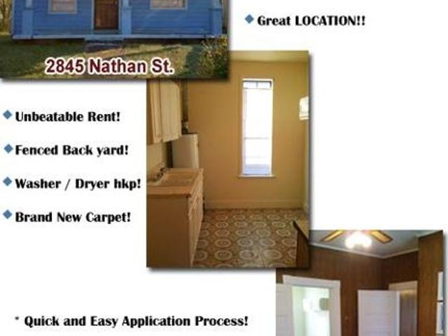 $495 / 2br * Cute Home! Unbeatable Price! Great Location! Appliances Availa N Memphis / Be...