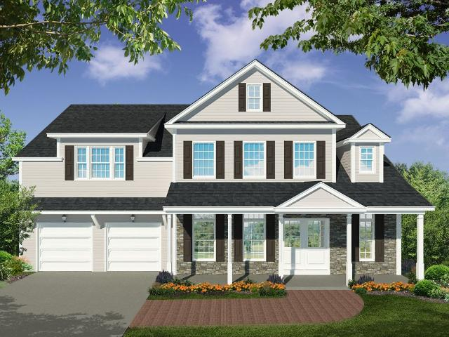 4 Bed, 2 Bath New Home Plan In Ballston Lake, Ny