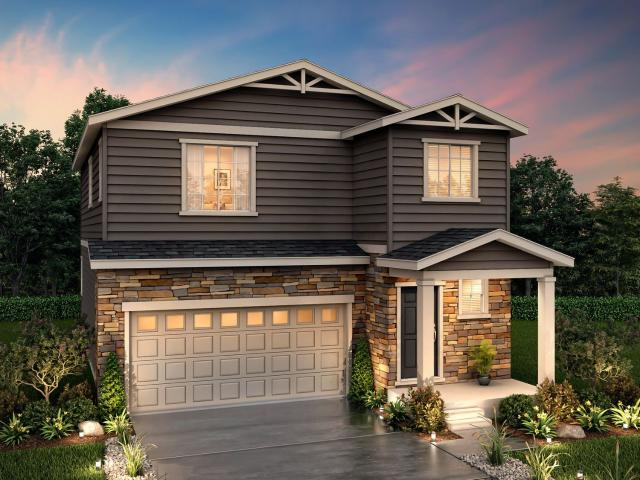 4 Bed, 2 Bath New Home Plan In Castle Rock, Co