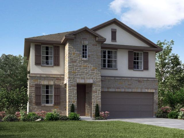 4 Bed, 2 Bath New Home Plan In Dripping Springs, Tx