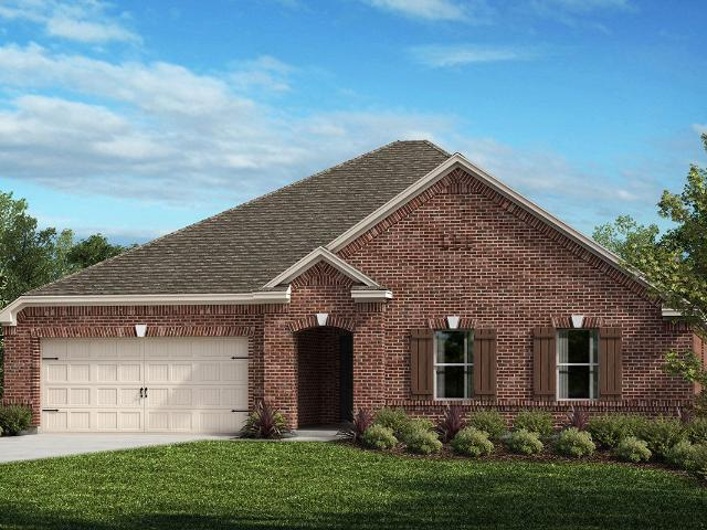 4 Bed, 2 Bath New Home Plan In Fort Worth, Tx