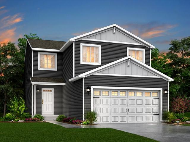 4 Bed, 2 Bath New Home Plan In Fowlerville, Mi