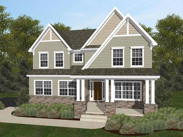 4 Bed, 2 Bath New Home Plan In Gilbertsville, Pa