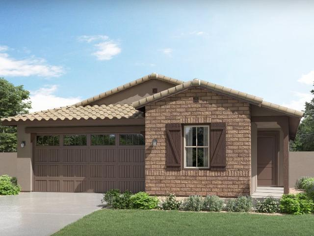 4 Bed, 2 Bath New Home Plan In Gold Canyon, Az
