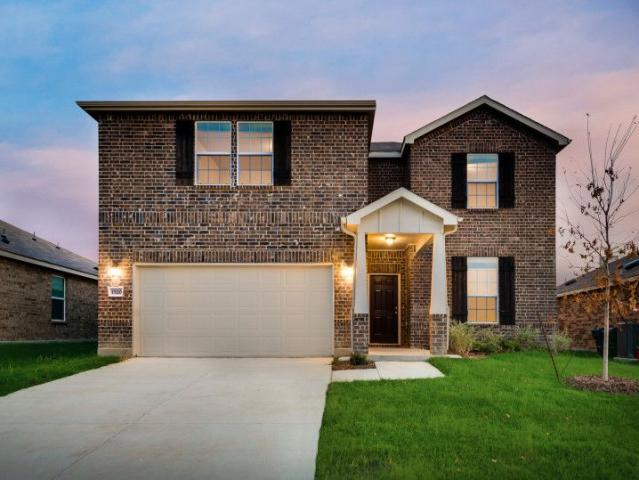 4 Bed, 2 Bath New Home Plan In Haslet, Tx