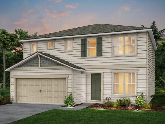 4 Bed, 2 Bath New Home Plan In Jacksonville, Fl