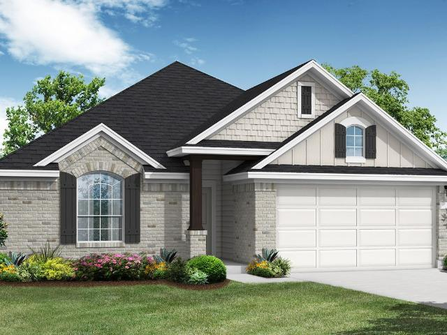 4 Bed, 2 Bath New Home Plan In Liberty Hill, Tx