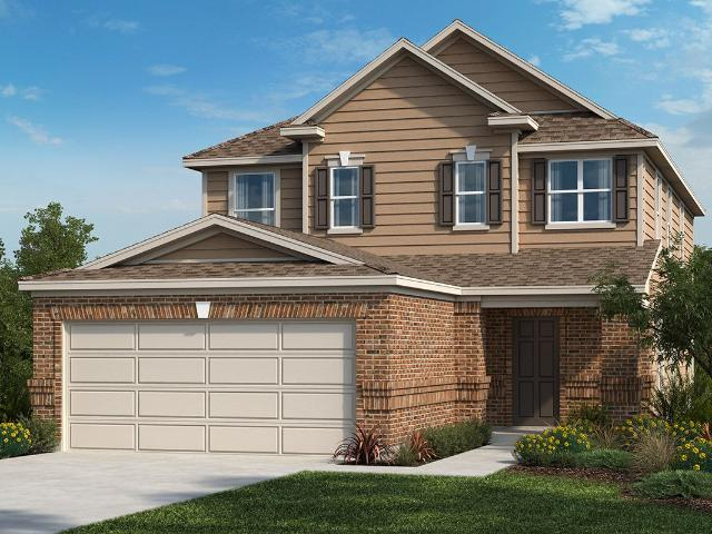 4 Bed, 2 Bath New Home Plan In Manor, Tx