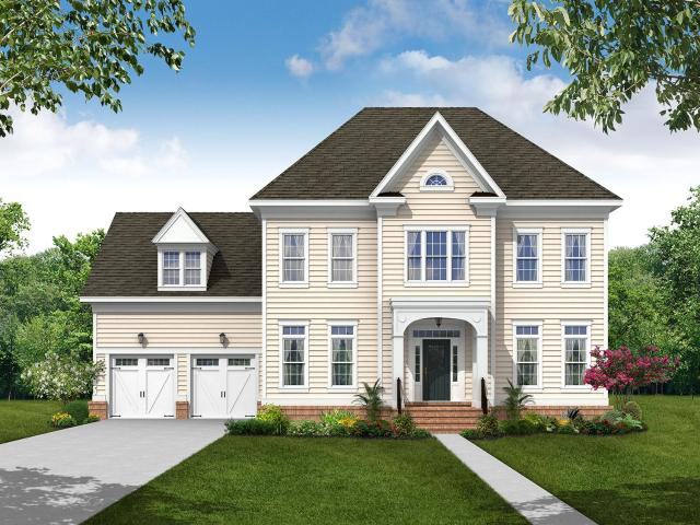 4 Bed, 2 Bath New Home Plan In Middle River, Md