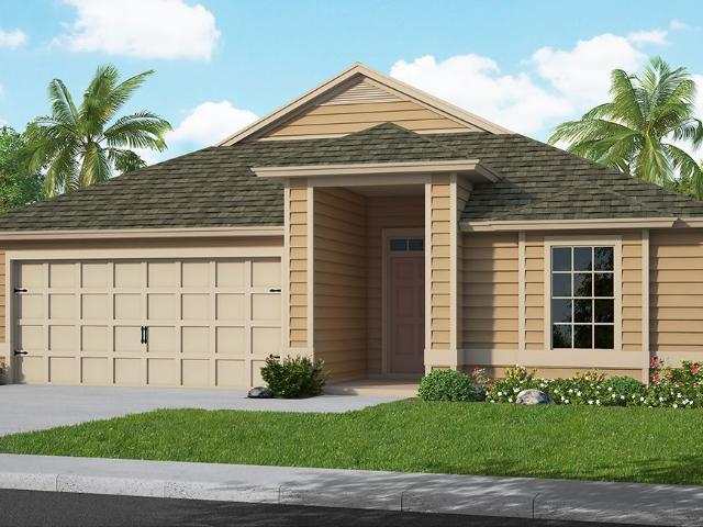4 Bed, 2 Bath New Home Plan In Middleburg, Fl