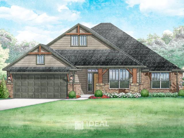 4 Bed, 2 Bath New Home Plan In Moore, Ok