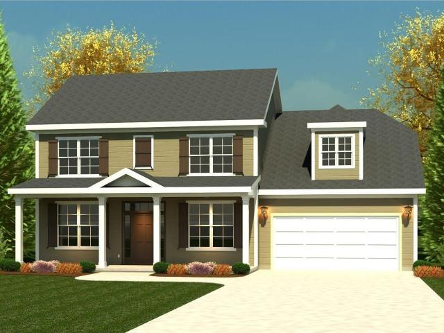 4 Bed, 2 Bath New Home Plan In North Augusta, Sc