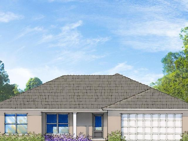4 Bed, 2 Bath New Home Plan In North Port, Fl
