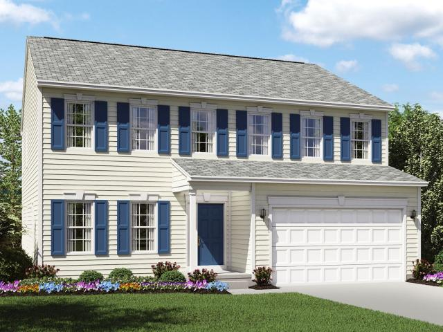 4 Bed, 2 Bath New Home Plan In North Ridgeville, Oh