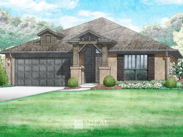 4 Bed, 2 Bath New Home Plan In Oklahoma City, Ok