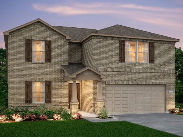 4 Bed, 2 Bath New Home Plan In Princeton, Tx