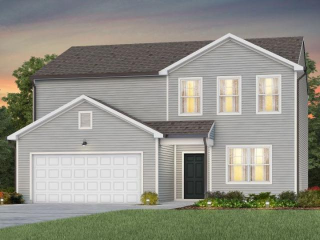 4 Bed, 2 Bath New Home Plan In Raleigh, Nc
