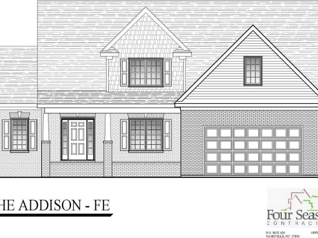 4 Bed, 2 Bath New Home Plan In Rocky Mount, Nc
