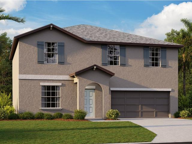 4 Bed, 2 Bath New Home Plan In Sun City Center, Fl