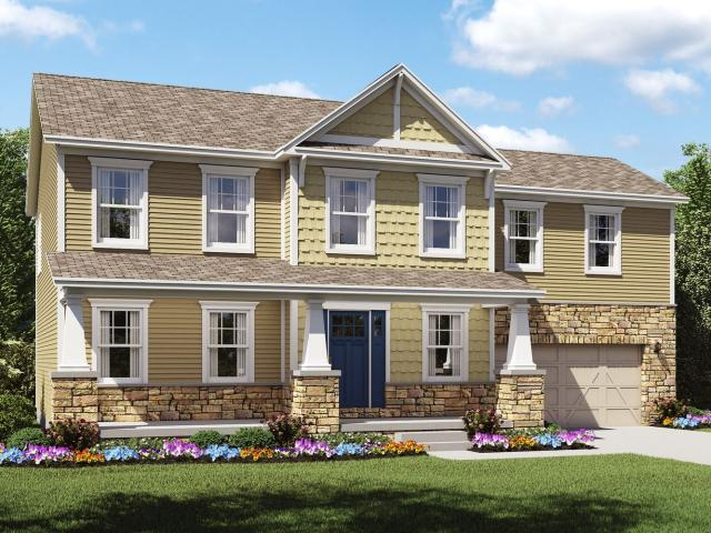4 Bed, 2 Bath New Home Plan In Sunbury, Oh
