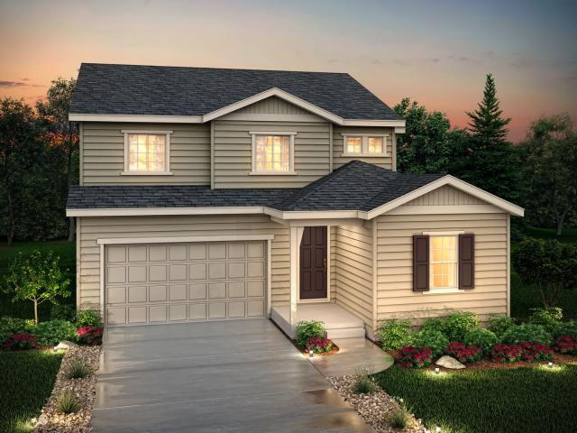 4 Bed, 2 Bath New Home Plan In Thornton, Co