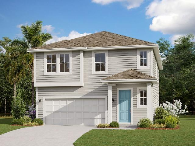 4 Bed, 2 Bath New Home Plan In Yulee, Fl