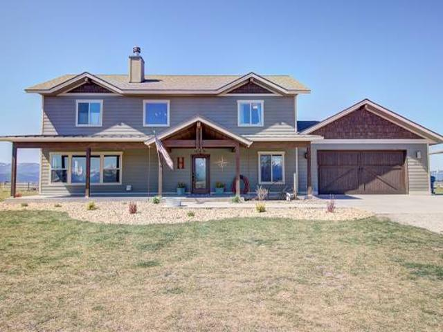 4 Bed, 3 Bath Home For Sale On 10 Acres Kalispell