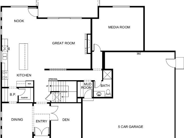 4 Bed, 3 Bath New Home Plan In Buckley, Wa